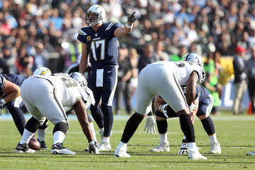 Philip Rivers Oakland Raiders v Los Angeles Chargers