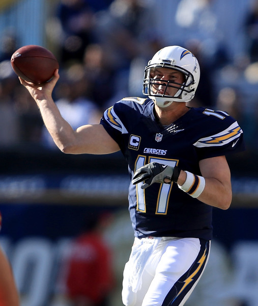 San Diego Chargers Chiefs Game: Philip Rivers Photos Photos
