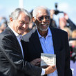Philippe Augier Morgan Freeman Receives Honorary Award : Photocall - 44th Deauville American Film Festival