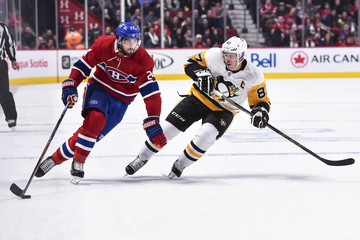 Phillip Danault Pittsburgh Penguins v Montreal Canadiens