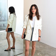 Phoebe Tonkin WARDROBE.NYC Launches Release 04 DENIM And Levi's® Collaboration Launch