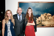 (L-R) Photographer Bojana Novakovic, owner of De Re Gallery Steph Sebbag, and photographer Monroe attend the Photo Femmes Exhibition Opening at De Re Gallery, featuring the work of Ashley Noelle, Bojana Novakovic and Monroe, at De Re Gallery on April 13, 2016 in West Hollywood, California.