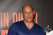 """Vin Diesel attends a photocall for Sony Pictures' """"Bloodshot"""" at The London Hotel on March 06, 2020 in West Hollywood, California."""