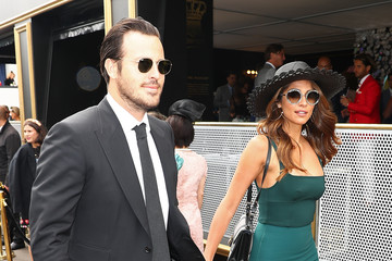 Pia Miller Celebrities Attend Melbourne Cup Day