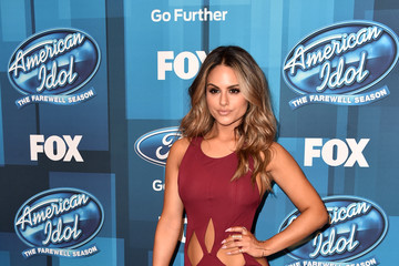 Pia Toscano FOX's 'American Idol' Finale For The Farewell Season - Arrivals