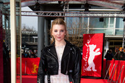 Natalie Dormer attends the 'Picnic at Hanging Rock' premiere during the 68th Berlinale International Film Festival Berlin at Zoo Palast on February 19, 2018 in Berlin, Germany.