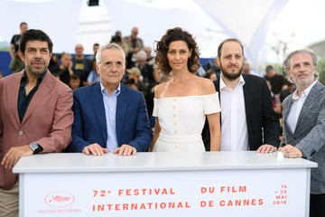 Pierfrancesco Favino Fausto Russo Alesi 'The Traitor' Photocall - The 72nd Annual Cannes Film Festival