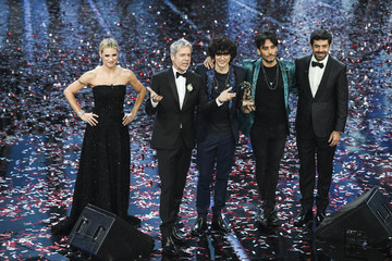 Pierfrancesco Favino Sanremo 2018 - Day 5 - Closing Night