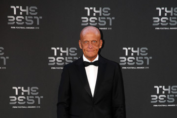 Pierluigi Collina The Best FIFA Football Awards - Green Carpet Arrivals