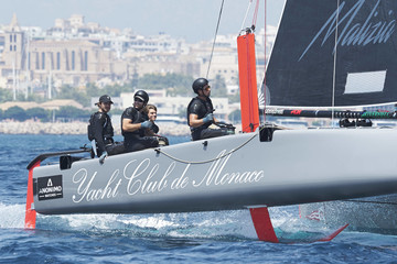 Pierre Casiraghi Day 1 - 36th Copa del Rey Mapfre Sailing Cup