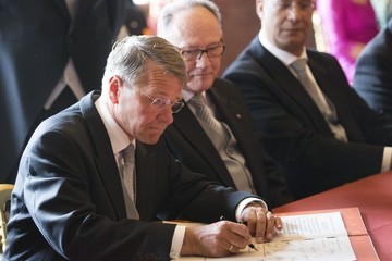 Piet Hein Donner Inauguration of King Willem-Alexander
