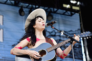 Nikki Lane performs during Pilgrimage Music & Cultural Festival on September 23, 2017 in Franklin, Tennessee.