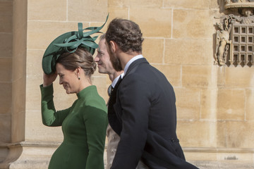Pippa Middleton Princess Eugenie Of York Marries Mr. Jack Brooksbank