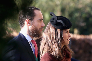 Pippa Middleton The Royal Family Attend Church On Christmas Day
