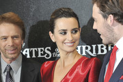 Jerry Bruckheimer and Penelope Cruz Photos Photo