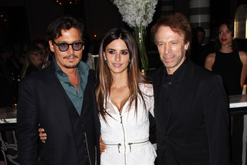 "Johnny Depp Jerry Bruckheimer ""Pirates Of The Caribbean: On Stranger Tides"" - UK Premiere - After Party"