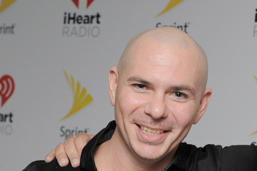 Pitbull iHeartRadio Fiesta Latina Presented by Sprint - Backstage