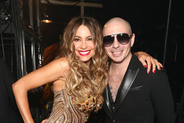 Pitbull The 58th GRAMMY Awards - Backstage and Audience