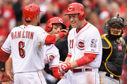 Todd Frazier Billy Hamilton Photos Photo