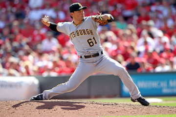 Chan Ho Park Pittsburgh Pirates v Cincinnati Reds