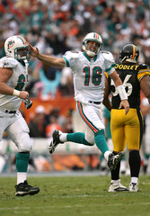 Joe Berger Pittsburgh Steelers v Miami Dolphins