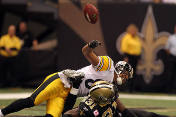 Pierson Prioleau Pittsburgh Steelers v New Orleans Saints