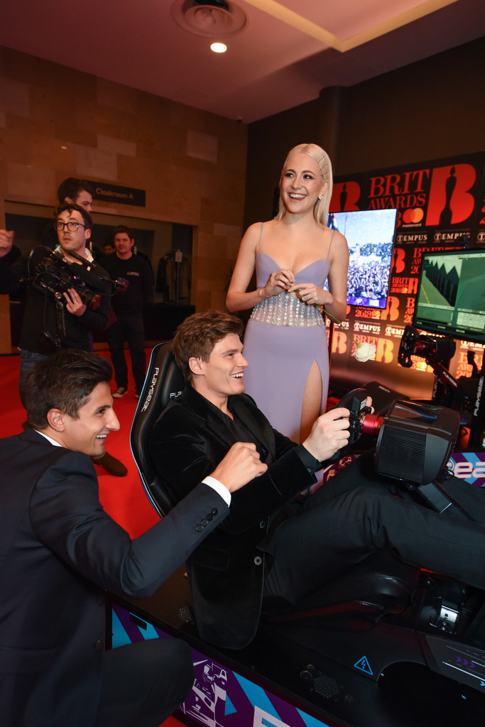 Pixie+Lott+Formula+E+Simulators+BRIT+Awards+ZxW787ZA3jax.jpg