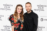 "Nicole Berger and Mark Webber attend the ""The Place of No Words"" - 2019 Tribeca Film Festival at SVA Theater on April 27, 2019 in New York City."