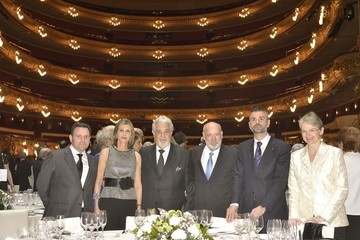 Placido Domingo Placido Domingo Celebrates The 50th Anniversary of His Debut At Liceu Barcelona