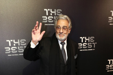 Placido Domingo The Best FIFA Football Awards - Green Carpet Arrivals