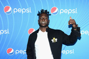 "Antonio Brown attends ""Planet Pepsi"" Pre-Super Bowl LIII party, featuring Travis Scott, on February 1, 2019 in Atlanta, Georgia."