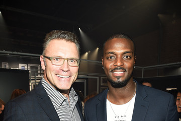 Plaxico Burress JCPenney and Michael Strahan Launch Collection By Michael Strahan