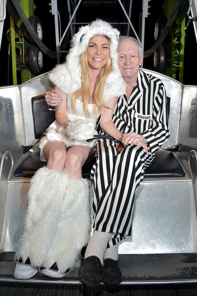 Playboy and Hugh Hefner Host Annual Halloween Party at the Playboy Mansion