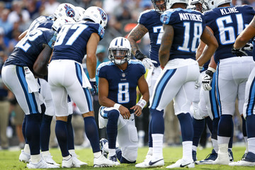 Player Seattle Seahawks v Tennessee Titans