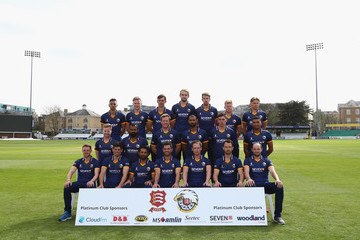 Player Essex CCC Photocall