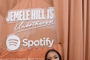 Jemele Hill attends the Spotify House Of Are & Be Podcast Session Presenting Jemele Hill Is Unbothered Live With Senator Kamala Harris on July 06, 2019 in New Orleans, Louisiana.