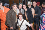 Eric Podwall, Brandon Flynn and Guests attend Podwall Entertainment's 9th Annual Halloween Party Presented By Makers Mark at The Peppermint Club on October 31, 2018 in Los Angeles, California.