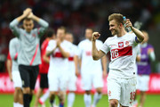 Jakub Blaszczykowski of Poland celebrates during the UEFA EURO 2012 group A match between Poland and Russia at The National Stadium on June 12, 2012 in Warsaw, Poland.