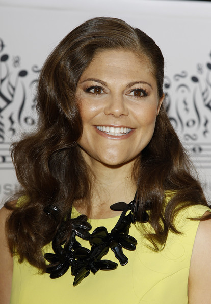 Princess Victoria of Sweden arrives for the Polar Music Prize at Konserthuset on August 28, 2012 in Stockholm, Sweden.