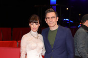 """Member of the International Jury Berenice Bejo (L) and director Michel Hazanavicius attend the """"Police"""" (Night Shift) premiere during the 70th Berlinale International Film Festival Berlin at Berlinale Palace on February 28, 2020 in Berlin, Germany."""