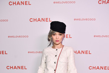 Pom Klementieff Chanel Party to Celebrate the Chanel Beauty House and @WELOVECOCO