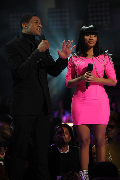 Nicki Minaj and Pooch Hall - BET's Rip The Runway 2010 - Show