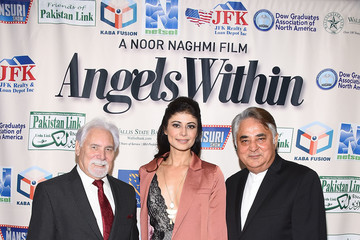 Pooja Batra Brian St. August Premiere Of Angels Within By Pakistan Link/Mansuri Show/Ary TV