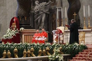 Pope Benedict XVI Mass To Mark 900th Anniversary of Vatican Official Recognition of the Order Of Malta