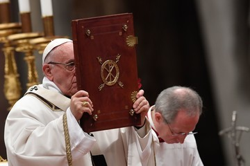 Pope Francis I Pope Francis Delivers Angelus Prayer
