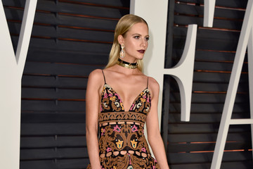 Poppy Delevingne Arrivals at the Elton John AIDS Foundation Oscars Viewing Party — Part 5