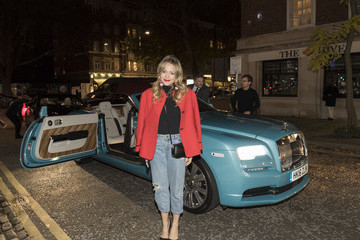 Poppy Jamie Rolls-Royce Arrivals at Design Museum Opening, London