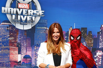 Poppy Montgomery Marvel Universe LIVE! Celebrity Red Carpet Event