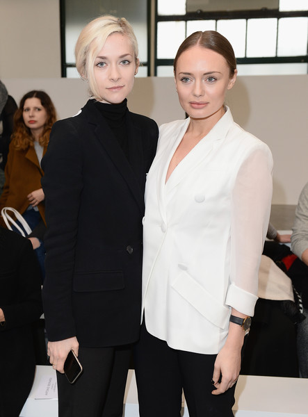 Front Row & Celebrities: Day 4 - LFW AW16