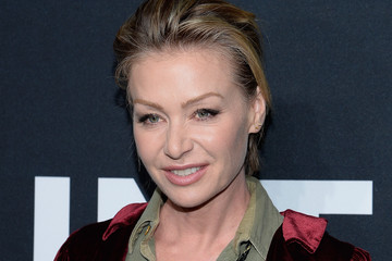 Portia de Rossi SAINT LAURENT At The Palladium - Arrivals